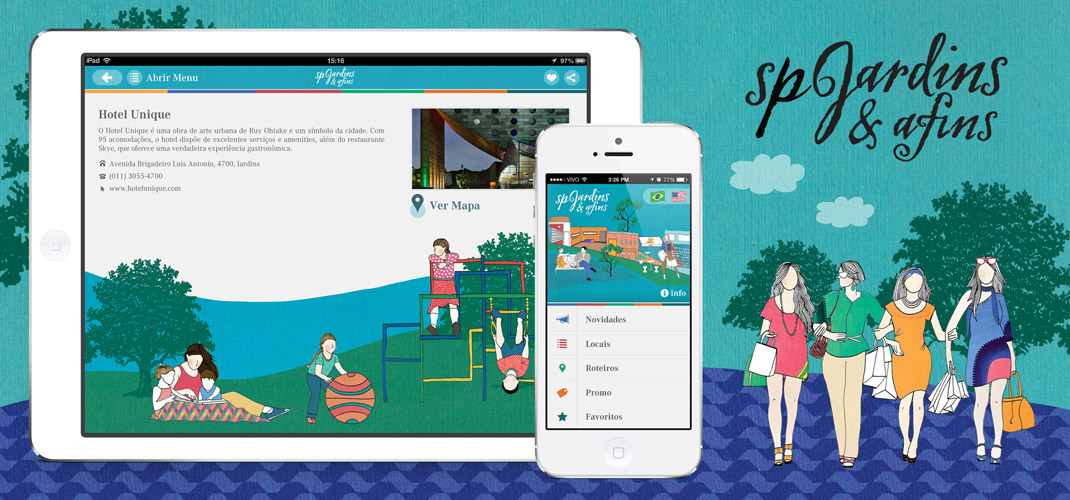 Guia SP Jardins & Afins - Available on AppStore for iPad, iPhone and iPod Touch