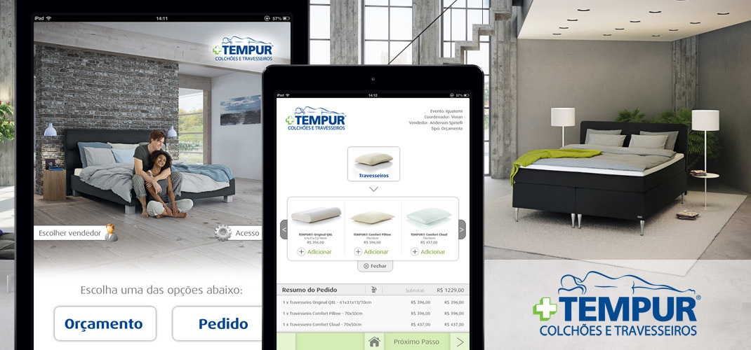 Tempur - Developed for iPad